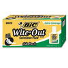 Bic BIC® Wite-Out® Brand Extra Coverage Correction Fluid BIC WOFEC12WE