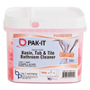 cleaning chemicals, brushes, hand wipers, sponges, squeegees: PAK-IT® Basin, Tub and Tile Cleaner