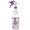 cleaning chemicals, brushes, hand wipers, sponges, squeegees: PAK-IT® Color-Coded Trigger-Spray Bottle