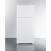 summit appliance: Summit Appliance - Accucold Medical® 21 CU FT Break Room Refrigerator-Freezer, White with NIST Calibrated Alarm/Thermometers