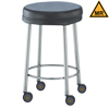 Blickman Industries Padded MRI Safe Exam Stool BLI 1027445001