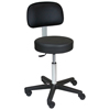 Blickman Industries Economy Hand Operated Exam Stool w/ backrest BLI 1041201325