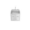 Blickman Industries Lodi Scrub Sink BLI 1339881P00