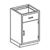 Blickman Industries Base Cabinet BLI 2012124000