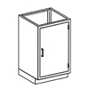 Blickman Industries Base Cabinet BLI 2012224000