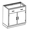 Blickman Industries Base Cabinet BLI 2013235001