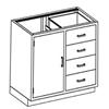Blickman Industries Base Cabinet BLI 2013435000