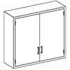 Blickman Industries Wall Cabinet BLI2020235000