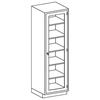 Blickman Industries High Cabinet BLI2030524000