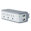 surge protectors: Belkin® Mini Surge Protector with USB Charger