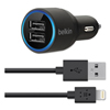 Ring Panel Link Filters Economy: Belkin® Car Charger with Lightning™ Cable