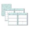 Blue Sky Rue Du Flore Weekly/Monthly Wirebound Planner, 11 x 8 1/2, Green/Lavender, 2020 BLS101602