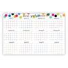 Blue Sky Ampersand Dots Laminated Wall Calendar, 36 x 24, 2020; 2019-2020 BLS 102487