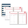 Blue Sky Day Designer Daily/Monthly Planner, 8 x 5, Navy/White, 2020 BLS103623