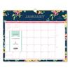Blue Sky Day Designer Wirebound Wall Calendar, 15 x 12, Navy Floral, 2020 BLS 103627