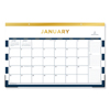 Blue Sky Day Designer Desk Pad Calendar, 17 x 11, 2020 BLS 103628