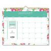 Blue Sky Day Designer Wirebound Wall Calendar, 11 x 8 3/4, White Floral, 2020 BLS 103629