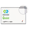 dry erase boards: Best-Rite® Presidential Trim Porcelain Dry Erase Board