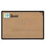 Balt Best-Rite® Black Splash-Cork Board BLT 300PGT1