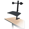 Balt BALT® Up-Rite Desk Mounted Sit-Stand Workstation BLT 91114