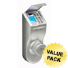 iTouchless Bio-Matic™ Fingerprint Deadbolt Door Lock Silver - Universal ITO BM002UCS