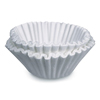 coffee filter: Flat Bottom Funnel Shaped Filters, for Bunn U3 brewer