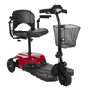 Drive Medical Bobcat X3 Compact Transportable Power Mobility Scooter, 3 Wheel, Red BOBCATX3