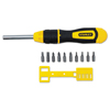 Stanley Tools Stanley Tools® 3 inch Multi-Bit Ratcheting Screwdriver BOS 68010