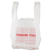 Brown Paper Goods Barnes Paper Company Thank You High-Density Shopping Bags BPC 8416THYOU