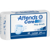 Attends Care® Moderate Absorbency Briefs, Large, 44-58, 24 EA/PK MON 83303101