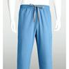 barco: Grey's Anatomy - Men's 6-Pocket GA Logo Elastic-Back Scrub Bottoms
