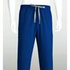 mens bottoms: Grey's Anatomy - Men's 6-Pocket GA Logo Elastic-Back Scrub Bottoms