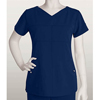 barco: Grey's Anatomy Signature - Women's Jr. 2-Pocket V-Neck Scrub Top