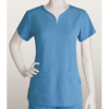 brc: Grey's Anatomy Signature - Women's Jr. 2-Pocket Notch Neck Scrub Top