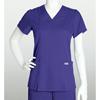 healthcare: Grey's Anatomy - Women's Jr. Mock-Wrap Princess Scrub Top