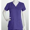 healthcare: Grey's Anatomy - Women's Jr. 3-Pocket V-Neck Tonal Stitch Scrub Top