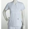 brc: Grey's Anatomy - Women's Jr. 3-Pocket Mock-Wrap Scrub Top