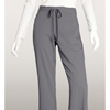 workwear womens pants: Grey's Anatomy - Women's Jr. 5-Pocket Drawstring Scrub Pants