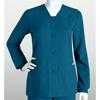 Grey's Anatomy Womens Jr. 4-Pocket Sporty Button Front Scrub Jacket BRC 4435-328-L