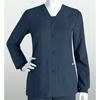 workwear jackets: Grey's Anatomy - Women's Jr. 4-Pocket Sporty Button Front Scrub Jacket