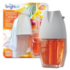 Air Freshener & Odor: BRIGHT Air® Electric Scented Oil Air Freshener Warmer and Refill Combo