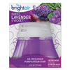 Bright Air Scented Oil Air Freshener Sweet Lavender & Violet, 2.5 oz, 6/Carton BRI 900288CT