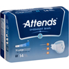 Attends Incontinent Brief Attends Tab Closure X-Large Disposable Heavy Absorbency MON 44403100