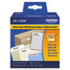 Brother Brother® Pre-Sized Die-Cut Label Roll for QL Label Printers BRT DK1204