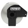 Brother DK1247 Label Tape, 4.07 x 6.4, Black on White, 180/Roll BRT DK1247