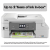 multifunction office machines: Brother Compact Color Inkjet All-in-One MFC-J995DWXL