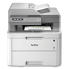 multifunction office machines: Brother MFC-L3710CW Compact Digital Color All-in-One Printer with Wireless Networking