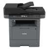 multifunction office machines: Brother MFC-L5800DW Business Monochrome All-in-One Laser Printer
