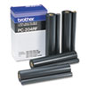 Brother Brother PC204RF Thermal Transfer Refill Roll, Black, 4/Pack BRT PC204RF