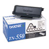 Imaging Supplies and Accessories: Brother TN550 Toner, 3500 Page-Yield, Black